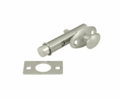 Privacy Mortise Bolt 1-3//4 inch Backset Door Hardware in 9 Finishes By FPL