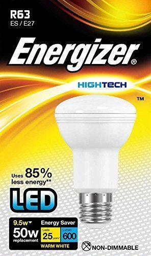 Energizer LED R63 Foco Bombilla Repuesto 9.5w=50w - ES E27