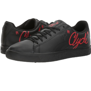 Men's PUMA Clyde Signature | Color: Puma Black/Toreador | Size: 12