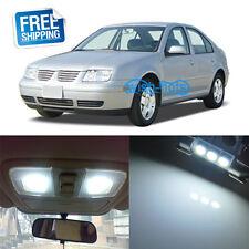 10x White Interior LED Light Kit For Volkswagen MK4 Jetta GTI Golf 2000-2005