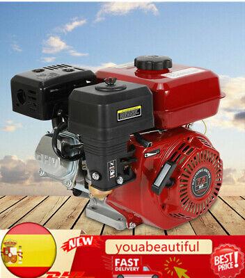 Jintaihua Motor de Gasolina Motor de Barco 7,5 HP 5,1 kW, Eje, protecci/ón contra bajo Nivel de Aceite, Motor monocil/índrico de 4 Tiempos refrigerado por Aire, Arranque de Retroceso Motor de Kart