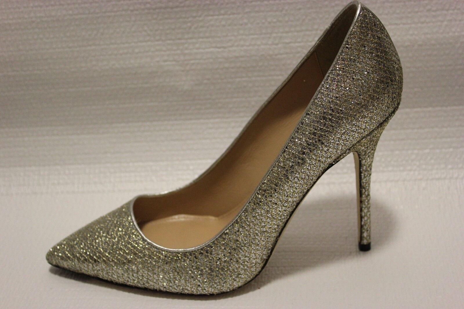 J Crew Roxie Mermaid Glitter Pumps Heels 8.5 shoes  278 gold Silver  e0784