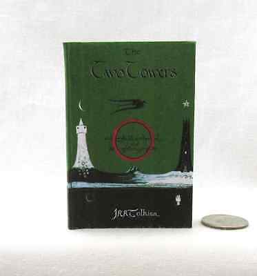 THE TWO (2) TOWERS Readable Book 1:3 Scale 18 Inch Scale Doll Book