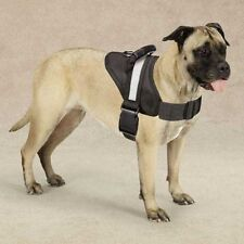 HDP Big Dog Soft No Pull Harness Size:Large Color:Black