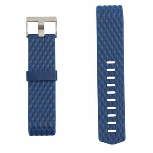 Blue FB160ABBUL Fitbit Classic Band for Fitbit Charge 2 Large