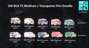 VW VOLKSWAGEN BUS T5 Multivan / Transporter Pins AUSSUCHEN