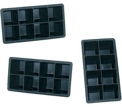 Eiswürfelbereiter Bar & Wein-accessoires Niedrigerer Preis Mit 3x Xxxl Silikon Eiswürfelform Für 8 Eiswürfel 5x5cm 8-fach Erfrischung Eisform