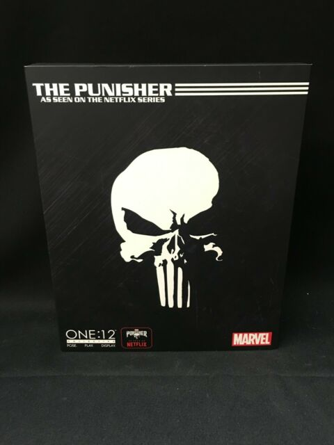 Marvel Comics Mezco Toyz Punisher One:12 Collective Action Figure Netflix 2019