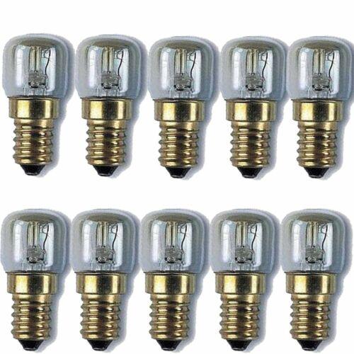 10 X Remplacement Ampoule sel de l/'Himalaya Lampes 15 W GE Electric qualité longue durée