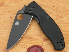 Spyderco C122GBBKP Tenacious, G-10 Black