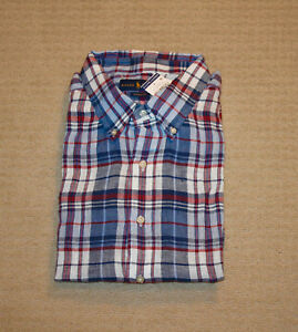 NEW-Polo-Ralph-Lauren-Big-and-Tall-Pony-Logo-Classic-Fit-Linen-Shirt