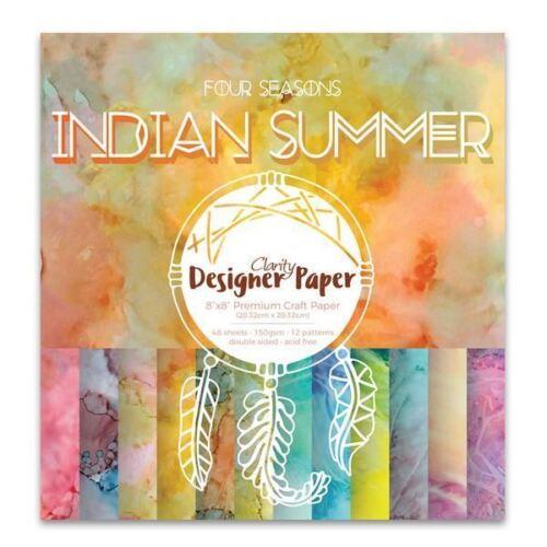 "8/"" x 8/"" Indian Summer Designer Papers"