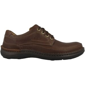 Clarks Nature Three Chaussures Hommes Chaussures Basses Chaussure Lacée Mahogany 20339005-afficher Le Titre D'origine