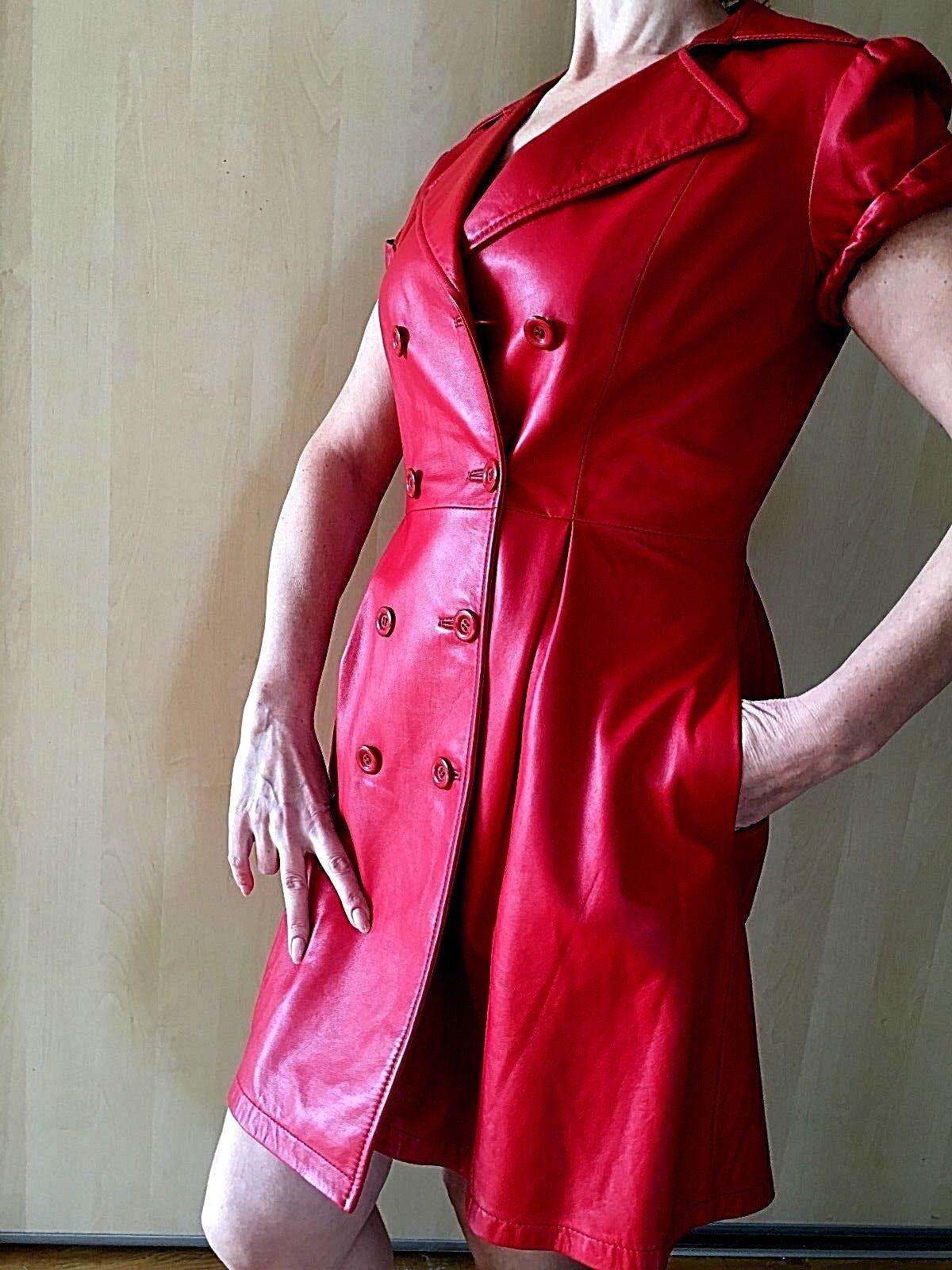 Vestido  De Cuero Talla M Nicola Bertti  mejor vendido