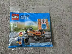 Lego Polybag 30357 Road Construction worker