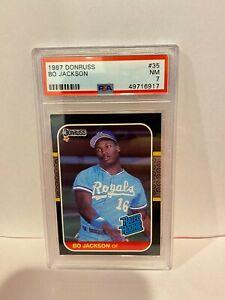 1987 Donruss//Leaf #35 Bo Jackson Kansas City Royals Baseball Card