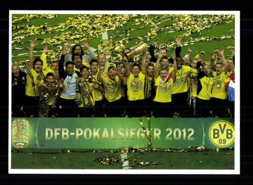 Borussia Dortmund Mannschaftskarte DFB Pokalsieger 2012