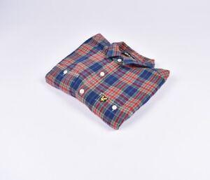 Lyle-amp-scott-Hombre-Multicolor-Camisa-Talla-L-Autentico