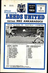 CWC-EC-II-72-73-Leeds-United-F-C-MKE-Ankaragucu-Turkei-27-09-1972