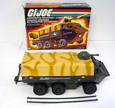 GI JOE APC PERSONNEL CARRIER Vintage Action Figure Vehicle COMPLETE w/BOX 1983