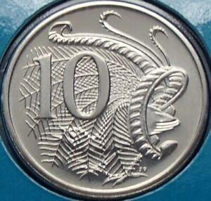 AUSTRALIA 1992 10 CENTS UNCIRCULATED EX SET