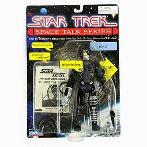 1995 Star Trek Playmates Space Talk Series BORG MOC #003478