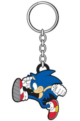 Sonic the Hedgehog-Running Sonic RUBBER KEYCHAIN