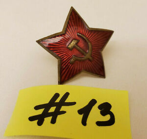 WW2-1940s-Russian-USSR-Officer-cockade-badge-star-Hot-Sale-Military-Pin-Soviet