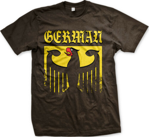 Germany Bundeswappen Coat of Arms Eagle Deutschland Germanic Pride Mens T-shirt