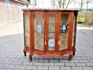 Image Is Loading ANTIQUE FRENCH SHOWCASE VITRINE DISPLAY CABINET LOUIS XVI