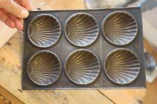 Vintage Six-Hole Shell Shapes Bun / Cake Baking Tin – Well-Used – Kitchenalia!