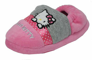 Baby Girl Soft Bootees Hello Kitty Hi Cut Pink Size 20//21 12-18 months