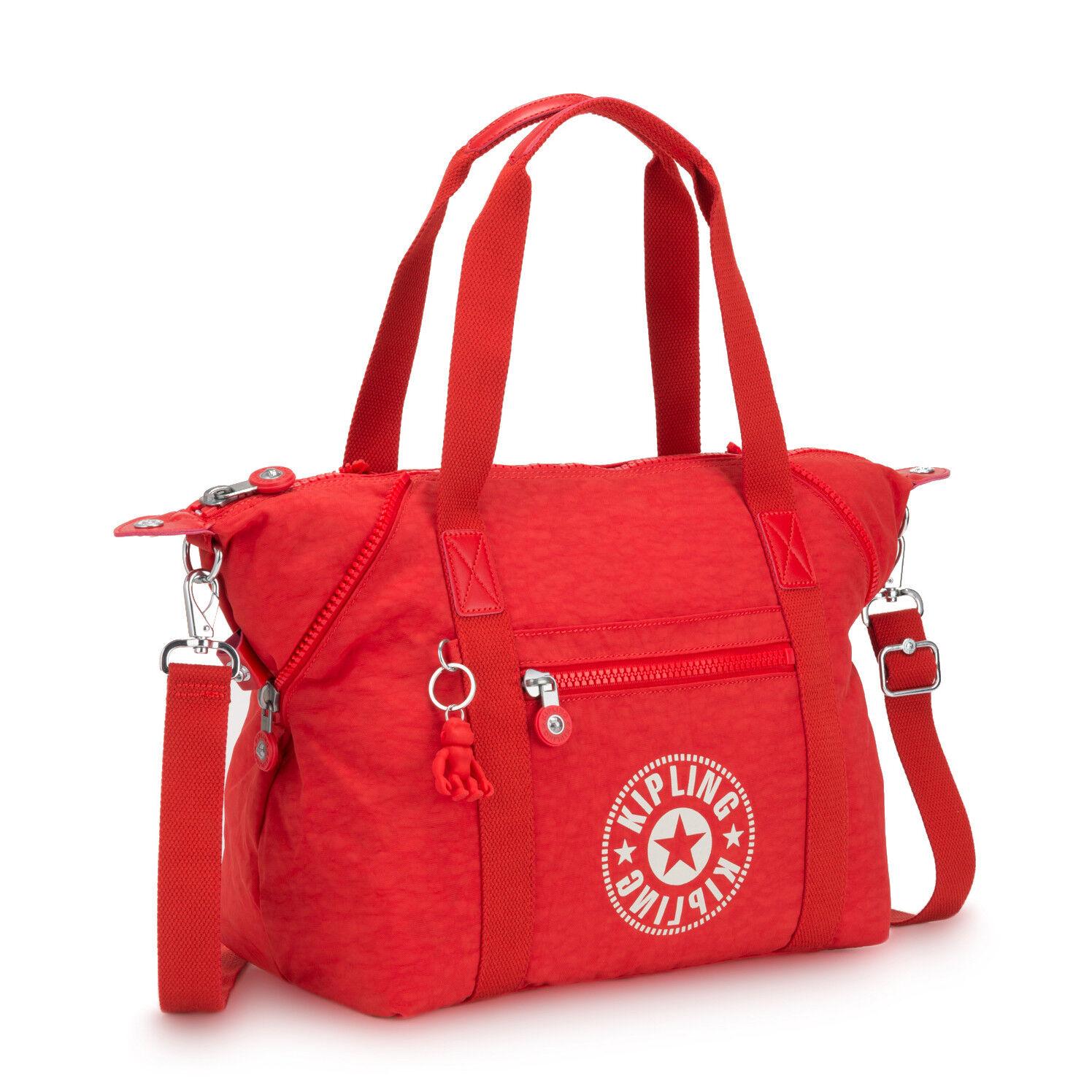 Kipling nuovo Donna Arte Nc Sporta  Attivo Rosso nuovo con Etichetta
