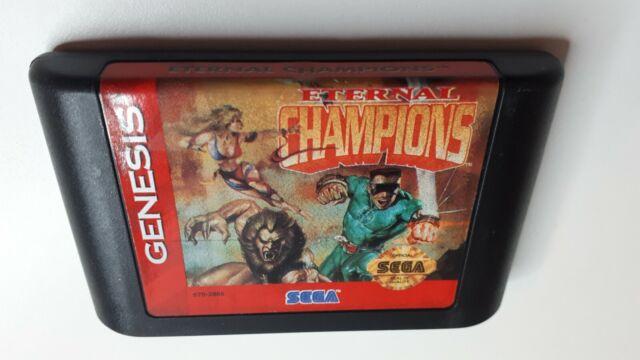 ☆ Eternal Champions ☆ (Sega Genesis, 1993) Authentic Oem ☆ FAST FREE SHIPPING
