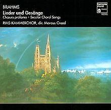 Lieder-und-Gesaenge-von-Rias-Kammerchor-Creed-M-CD-Zustand-sehr-gut