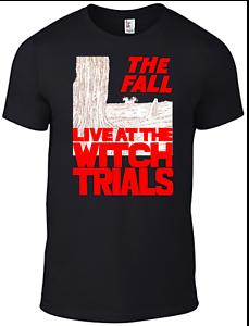 La chute Mark E Smith T-shirt live at witch trials CD vinyle bande bande de quatre b