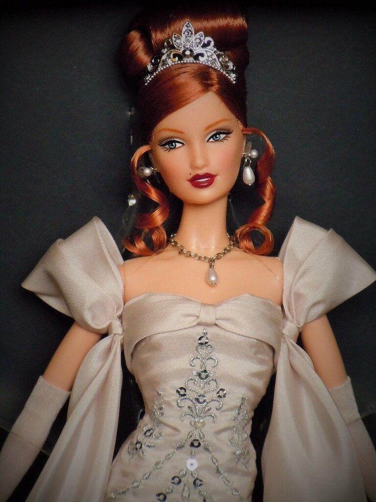 Año Nuevo de la medianoche celebración 2014 nbdc Convenio Barbie platinum_bdh43_nrfb