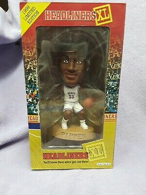NEW Headliners XL 1999 Limited Edition Scottie Pippen Basketball Figure