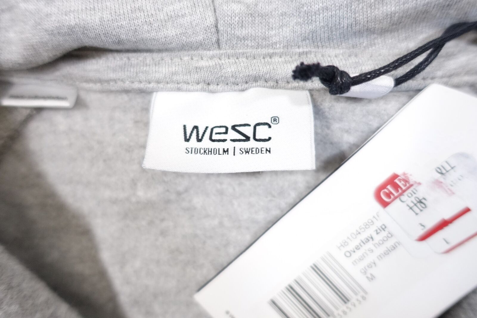 Wesc We Medio Are Superlative Conspiracy Medio We Completo Felpa con Cerniera Giacca 0183d1