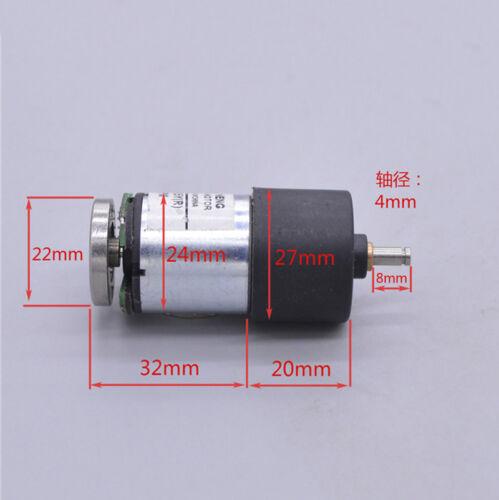 DC 6V 12V 70RPM Large Torque Full Metal Gear Motor Reducer Hall Sensor Signal