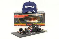 Stefan Bellof Tyrrell 012 #4 Monaco GP Formula 1 1984 With Cap 1 18 MINICHAMPS