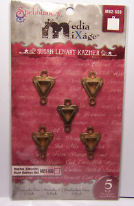 5-Triangle-Bezels-with-loops-for-Jewelry-Craft-fill-w-Resin-Paper-Ephemera