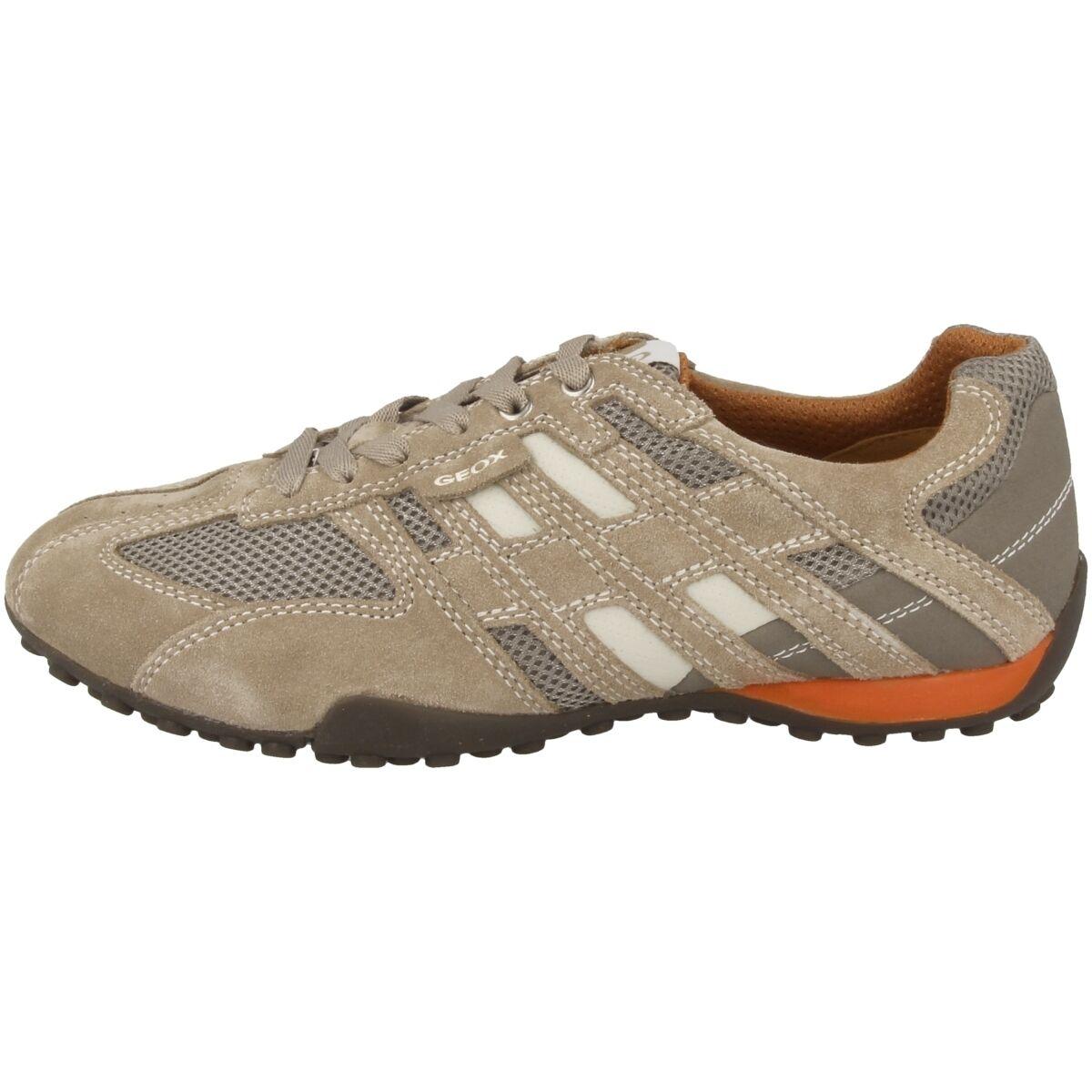 c536b7a89eaf Geox Geox Geox U Snake K shoes Sneakers men Mocassini di pelle Beige Box  86a62d