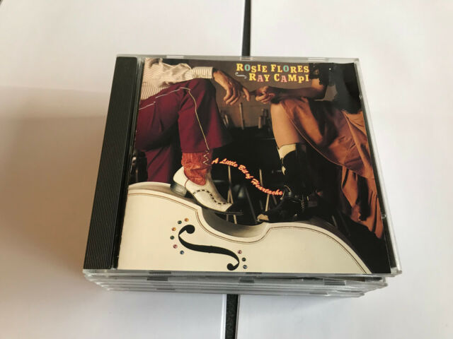 Ray Campi - A Little Bit Of Heartache (CD 1997) 8712604310592 UNPLAYED