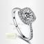 Genuine-Swarovski-Crystal-18k-White-Gold-Plated-Ring-Size-5-6-7-8-9-K-M-N-P-Q-S thumbnail 2