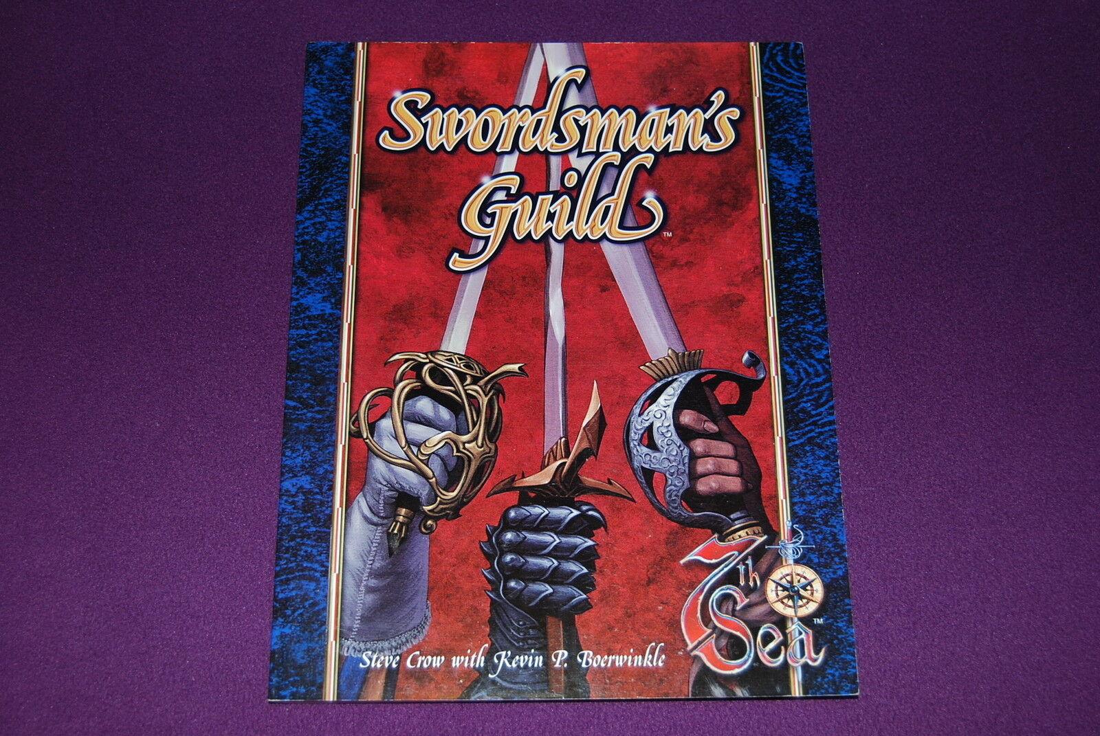 7TH SEA   SECRETS DE LA 7EME MER RPG JDR Jeu de Role - Swordsman's Guild