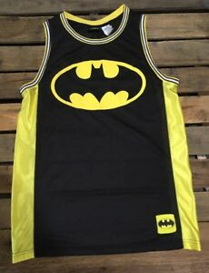 e8a83852e6e DC Comics Batman Bat Man Tank Top Basketball Jersey Large 1 | eBay