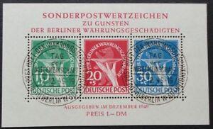 Berlin-Block-1-8-o-Auswahl-Block-1-8-mit-ESST-Berlin