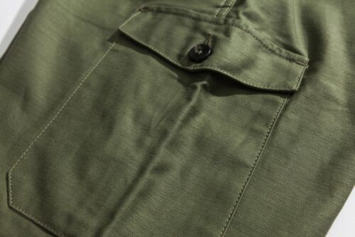 Reproduction Vintage 60s Australia Army Pants Military Cargo Jungle Trousers