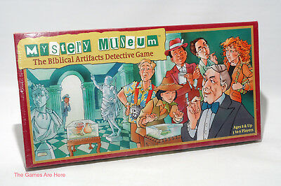 Games Mystery Museum The Biblical Artifacts Detective Game 8 3-6 Players 100